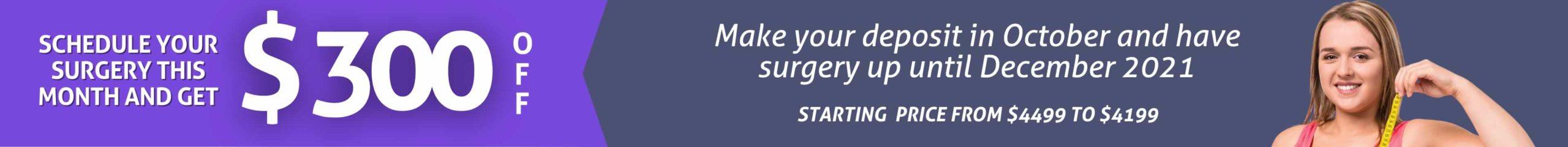 Weight loss surgery promo